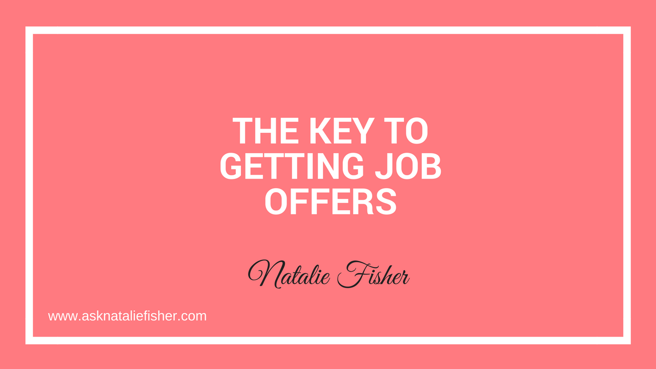 The Key To Getting Job Offers Using The Equalizer Strategy