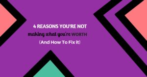 4 REASONS YOU'RE NOT