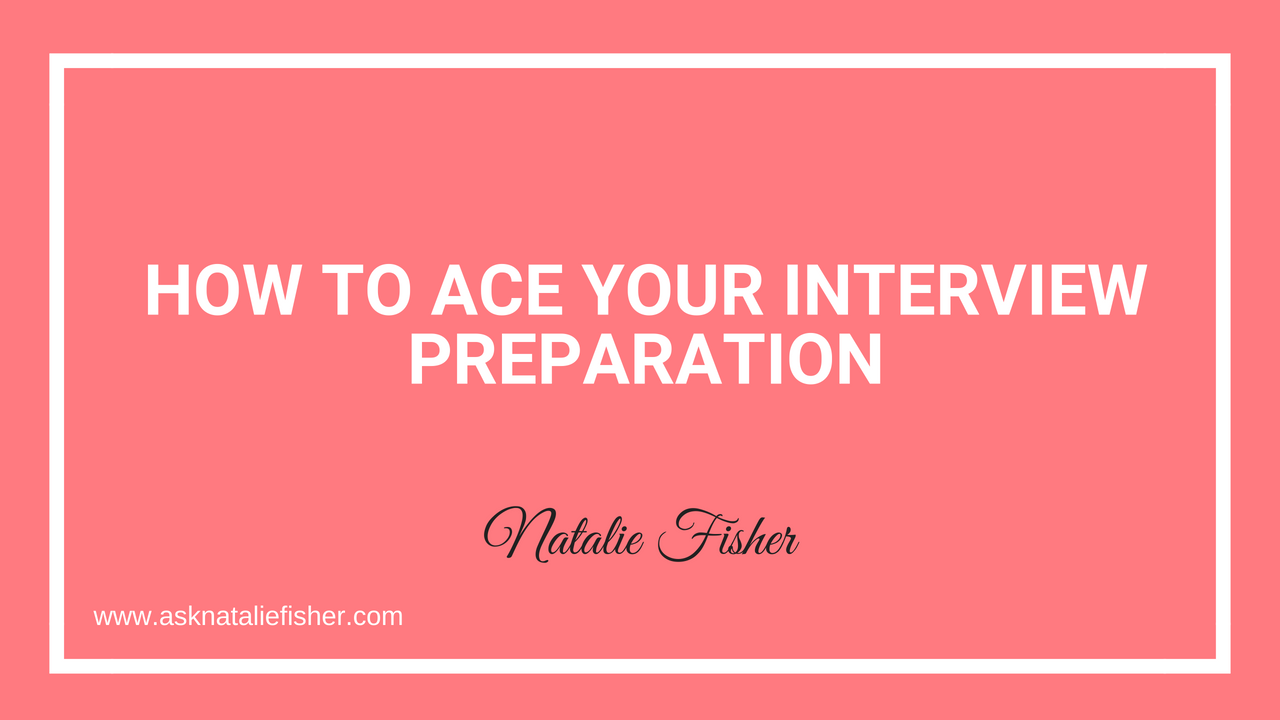 How to Ace Your Interview Preparation