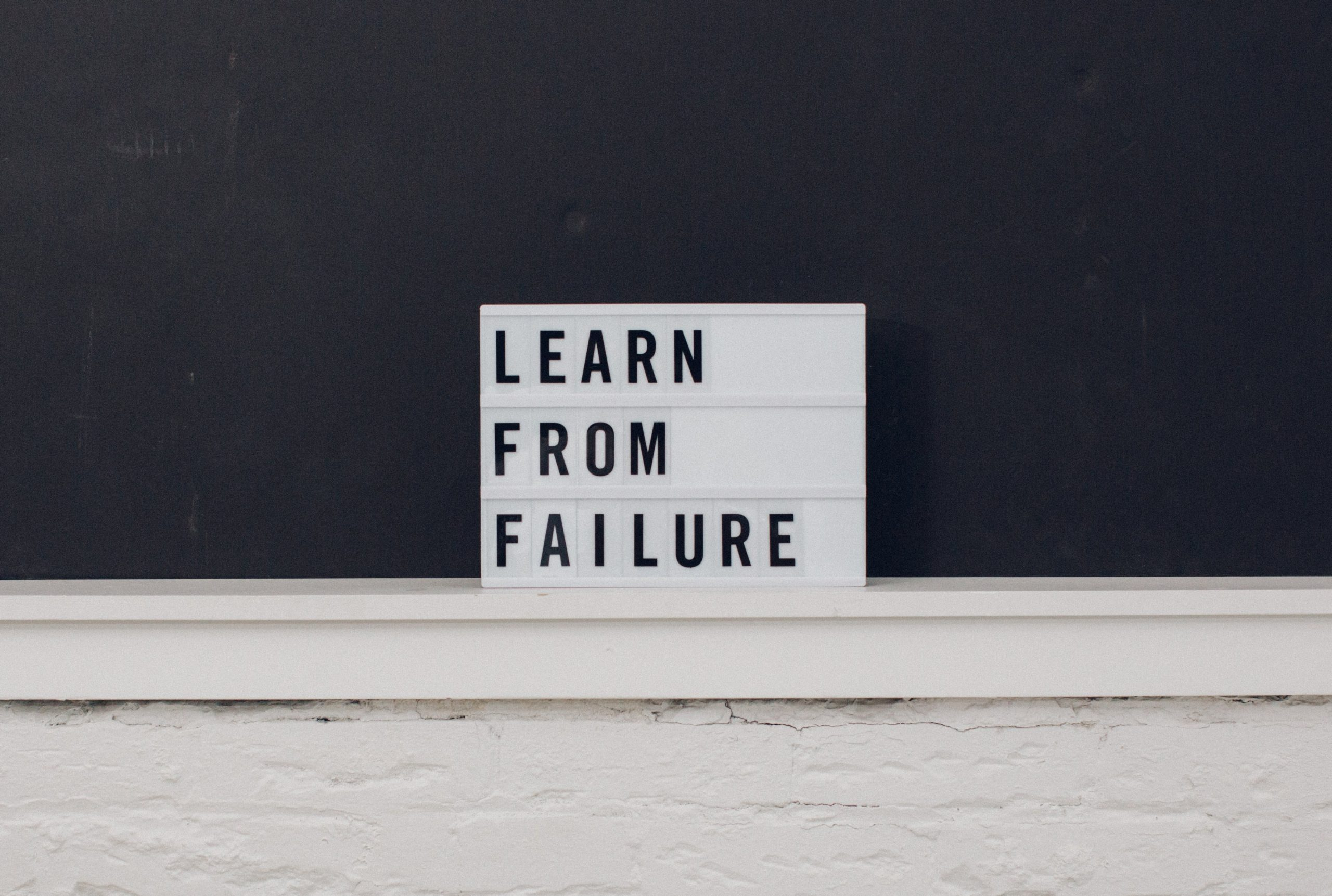 How To Deal With Professional Failure
