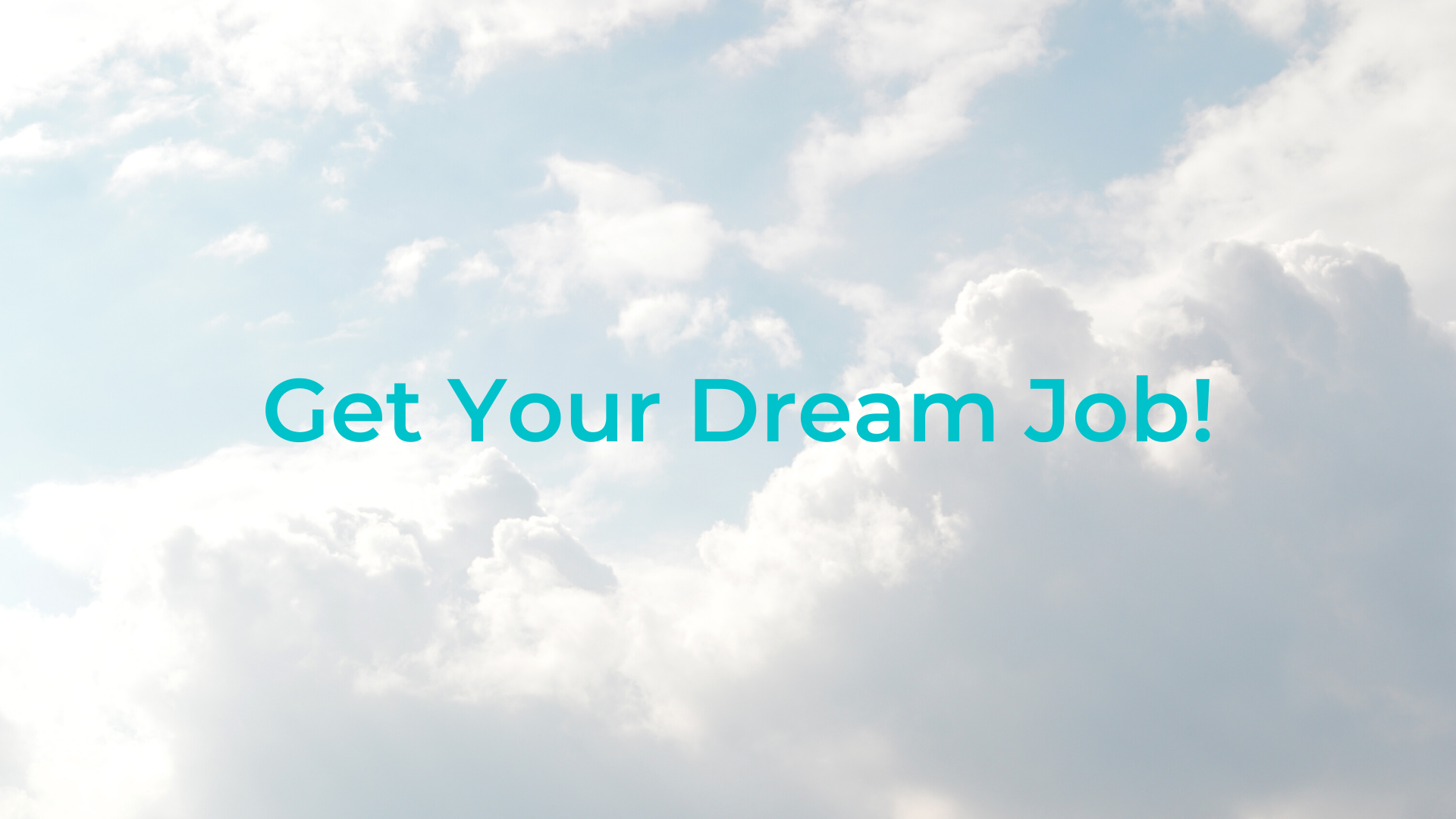 How To Get Your DREAM JOB (5 Pillars To Making Your Dream Job A Reality)