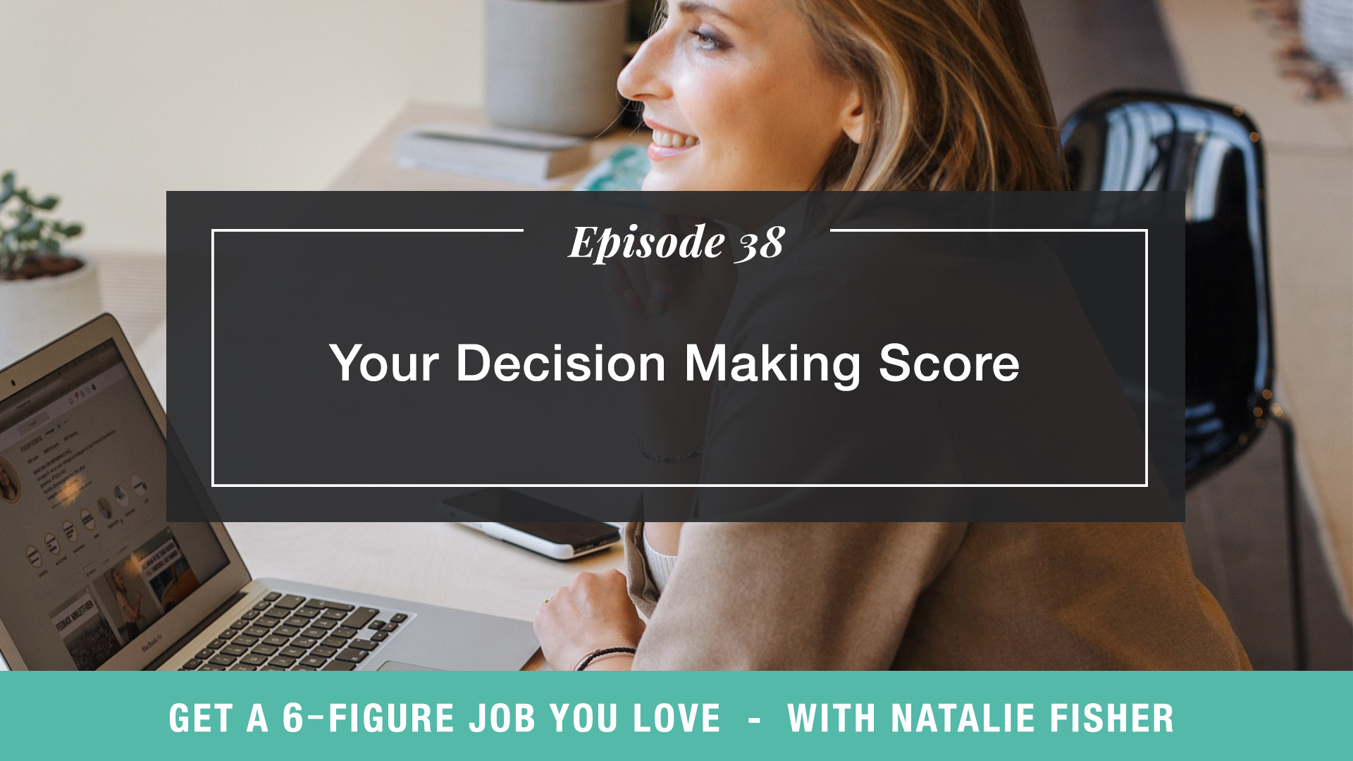 The Get a Six Figure Job You Love Podcast with Natalie Fisher | Your Decision Making Score